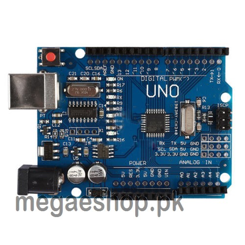 Arduino UNO R3 ATmega328P Board With USB Cable Compatible with Arduino