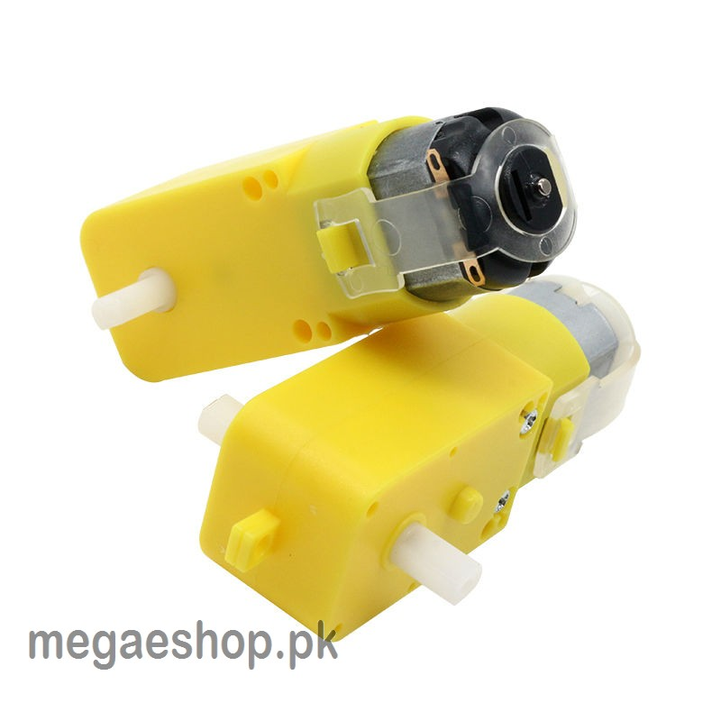 RC Car Gear Motor TT Motor DC 3V-6V  Robot Car Gear Motor