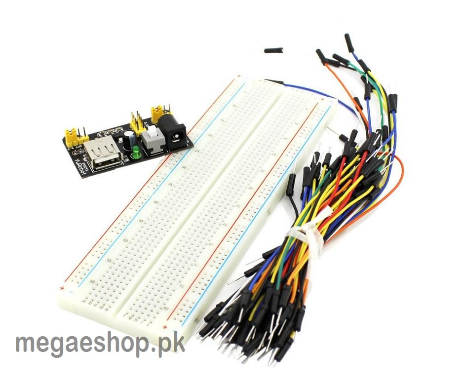 Solderless Breadboard Jumper Cable Wire Prototyping Kit Quantity 65