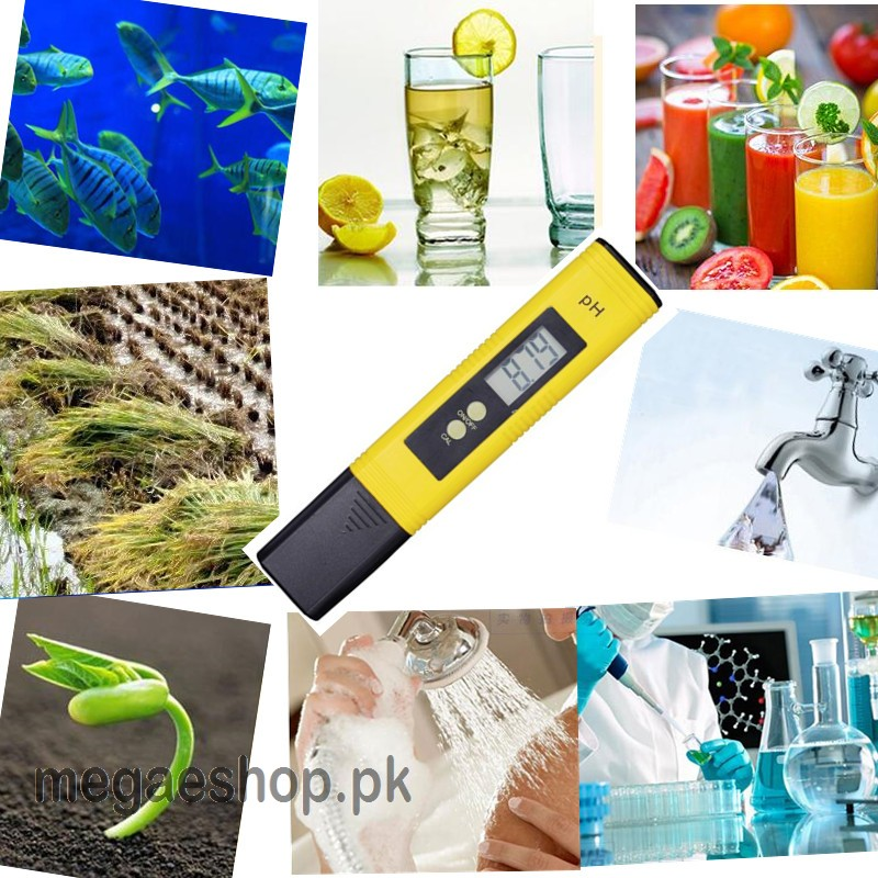 Digital PH Meter Pen with LCD Tester accuracy 0.01 Aquarium Pool Water Wine Urine