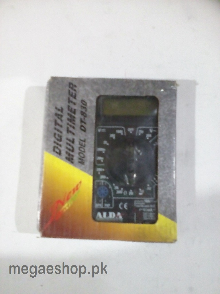 ALDA DT-830D DIGITAL MULTI-METER with Test Probe