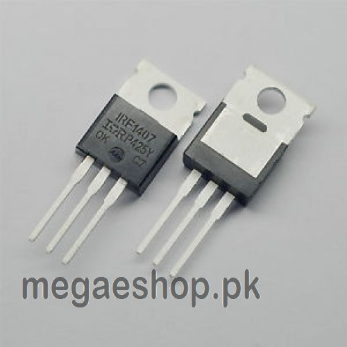 "IRF1407 IRF 1407 MOSFET Transistor TO-220AB ""IR"" N CHANNEL 75V 130A"