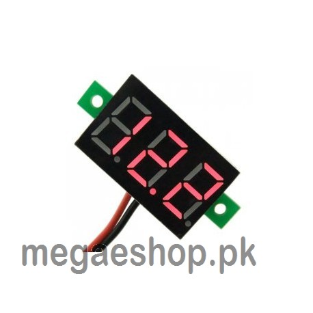Digital Voltmeter dc 4.7-32V 2 wires Mini
