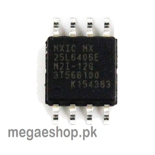MXIC MX25L6406E Flash Memory Chip 64Mbit 8MB