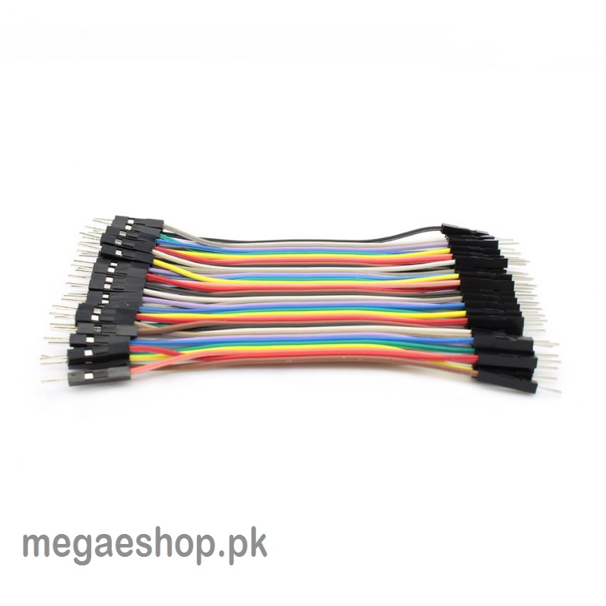 10cm 2.54mm 1pin Male to Male Jumper Wire Dupont Cable