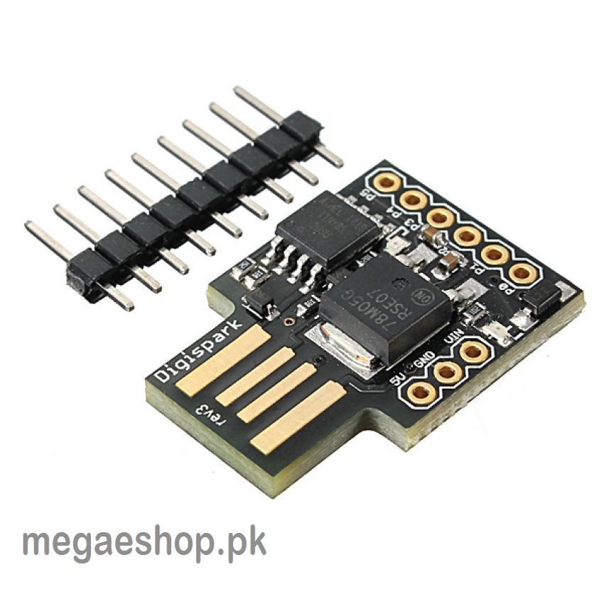 Digispark Kickstarter ATTINY85 General USB Development Board