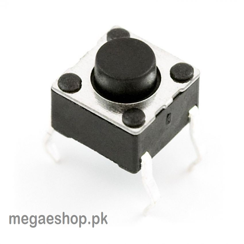 Tactile Push Button Switch DIP Through Hole 4pin
