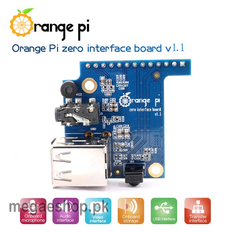 Orange Pi Zero Expansion board Interface board Development board