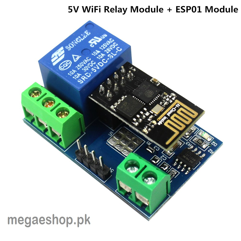 ESP8266 5V WiFi relay module smart home remote control switch phone ...