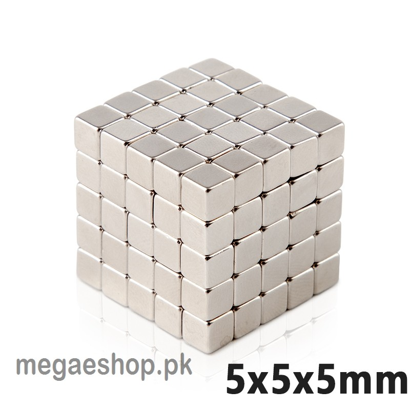 N35 Neodymium Magnets 5*5*5mm Super Strong Cuboid Cube Magnets Diy Permanent NdFeB