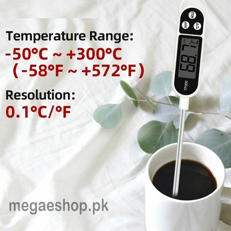 TP300 Digital Thermometer Kitchen Food Thermometer For Meat Cooking Food Probe