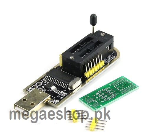 USB Programmer CH341A Series 24 EEPROM Writer 25 SPI Flash BIOS Board Module USB to TTL 5V-3.3V Software