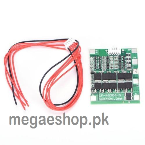 4S 30A 14.8V Li-ion Lithium 18650 BMS PCM Battery Protection Board Balance Lipo Module