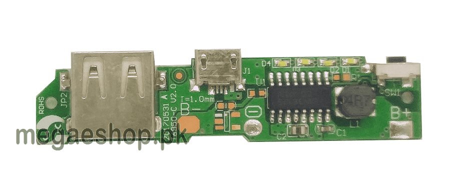 Power Bank USB 5V 2A Mobile Phone Charger PCB Board 18650 PCB Accessories