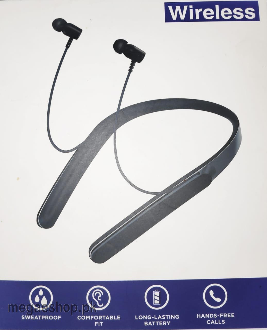 Stereo Headphone Bluetooth WI-C400 Wireless With TF Card Headset earphone