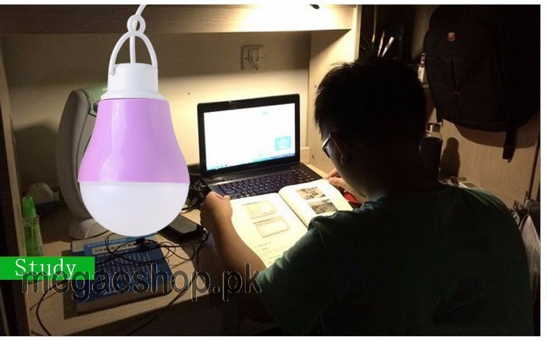 DC 5V 5W LED Bulb USB lamp Portable White light