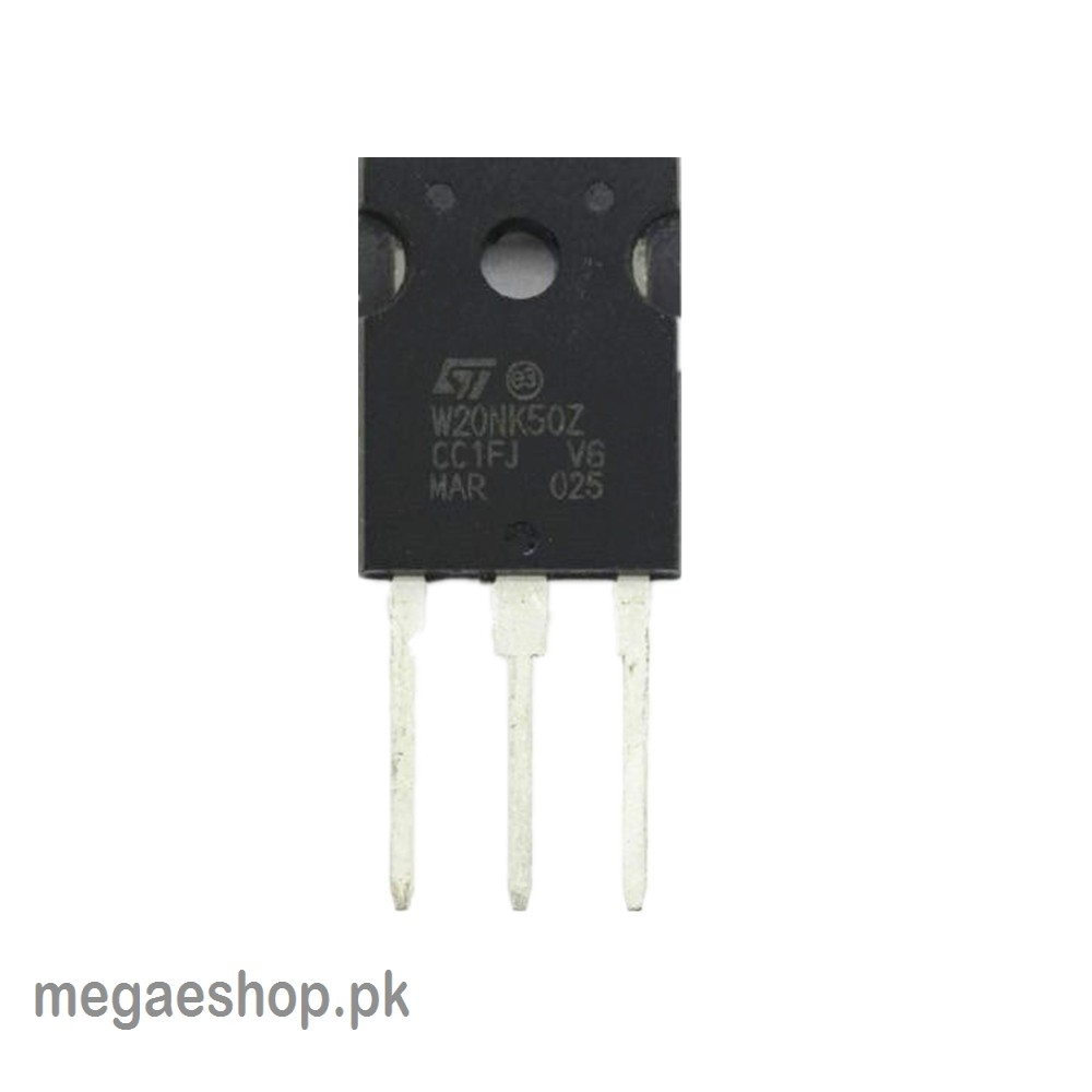 STW20NM60FD - W20NM60FD N-CHANNEL MOSFET 20A 600V 3-PIN TO-247