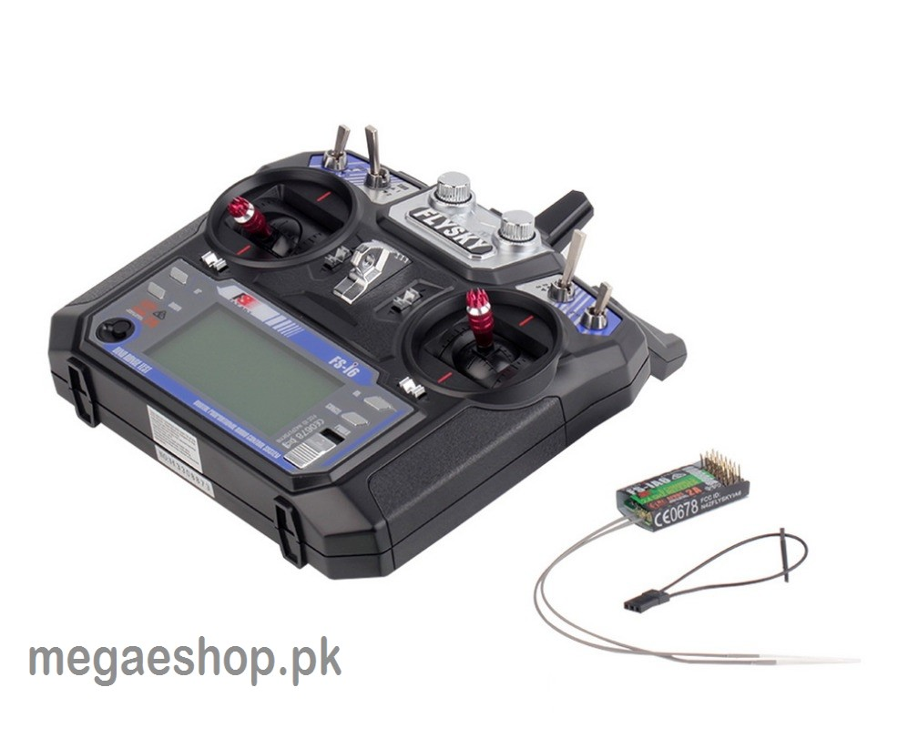 Flysky Fs I6 24g 6ch Rc Transmitter With Receiver For Tiny Cars And Charger Circuit 2 X Aa Cell 27mhz Helicopter Plane Quadcopter Glider Buy In Pakistan