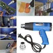 VOLDER VL101 HEAT GUN 1800 Watt Heavy Duty Hot Air Heat For Design and Build Decorate Remove Paint or Varnish Peeling Bronze Welding Shrink Wrap