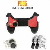 PubG 5 in 1 Gamepad Mobile Gaming Controller