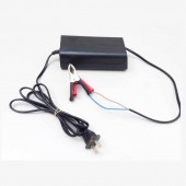 12V 6.5A Smart Compact Battery Charger For Car, Truck, Motorcycle