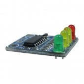 XD-82B 12V battery 4 section electricity indicator module board load E2V4