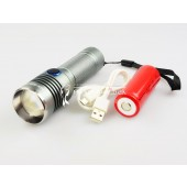 Super Bright Flashlight LED (Torch) with battery MX-S26-T6