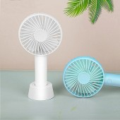 Mini Handheld Fan, Portable Rechargeable Battery Operated Small Personal Fan