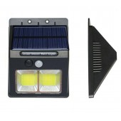 Rechargeable Solar Powered PIR Motion Sensor Light Outdoor Garden Security Wall Lamp LF-1502