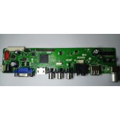 T R85 031 Universal TV motherboard HDMI USB upgrade LCD Universal Universal TV driver board