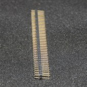 Double Male Pin Header Connectors 1x40 Row 2.54 Breakable 40 Pins
