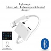 2 in 1 Headphone Audio Adapter Lightning to 3.5mm Cable Charging Aux Cable for iphone XS Max X 8 7
