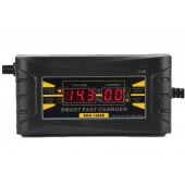 12v Battery Full Automatic Charger  For Car Motorcycle LCD Display