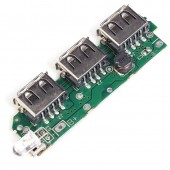 5V 2A 2.1A Power Bank Battery Charger Module Dual/3 USB Step Up Circuit Board
