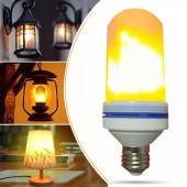 LED Flame Effect Light Bulb E27 LED Flickering Flame Light Bulb Decorative Light