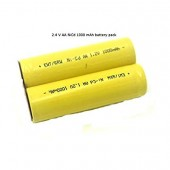 2.4V AA 1000 Mah Nicd Rechargeable  Battery Nickel Metal Hydride Battery with Solder Tabs