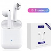 i13 TWS Touch Control Airpods Waterproof Headphone Wireless Stereo True Earbuds Bluetooth 5.0 3D Super Bass Earphone
