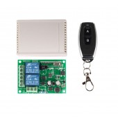 220V RF 433Mhz 2 Channel 2ch Wireless Remote Control Switch Module