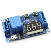6-30V Support Micro USB 5V LED Display Automation Cycle Delay Timer Control Off Switch