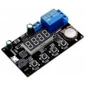 VHM-018 DC 5V Real Time Timer, Timer Relay Module, Control, Clock Synchronization, Multi-Mode Control