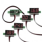 Digital Voltmeter DC 4.7-32V 2 wires Mini 0.36 Inch Voltage Panel Meter led Display