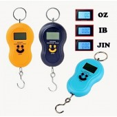 Portable Electronic Scales Weighing 50kg/10g with a spring scale hook luggage