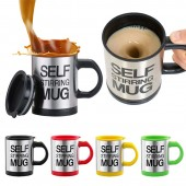 Self Stirring Mugs For Automatic Mixing Durable