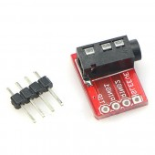 TRRS 3.5mm Jack Breakout Audio Stereo Headphon Microphone Interface Board