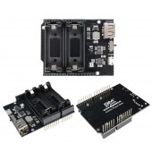 Dual 16340 Rechargeable Lithium Charge Board, 5V Micro USB Power Supply Module for Arduino UNO R3 One ESP8266 ESP32