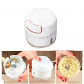 Mini Food Chopper Hand Pull Food Processor Garlic Press Mincer Grinder