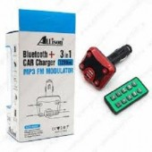 Allison 3-in-1 Bluetooth & Car Charger MP3 FM Modulator 1200mA, ALS-A642