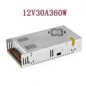 SUOER AC 110/220V to DC 12V 30A 360W Power Supply