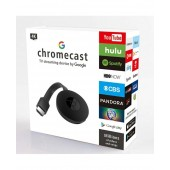 Google Chromecast Home Entertainment WiFi Streaming Device, Stream Content from Smartphones/Tablet to HDMI TV