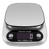 Digital Kitchen Food Scale 10Kg / 1g Stainless Steel Postal Electronic Scale Measuring Tools Weight Scale